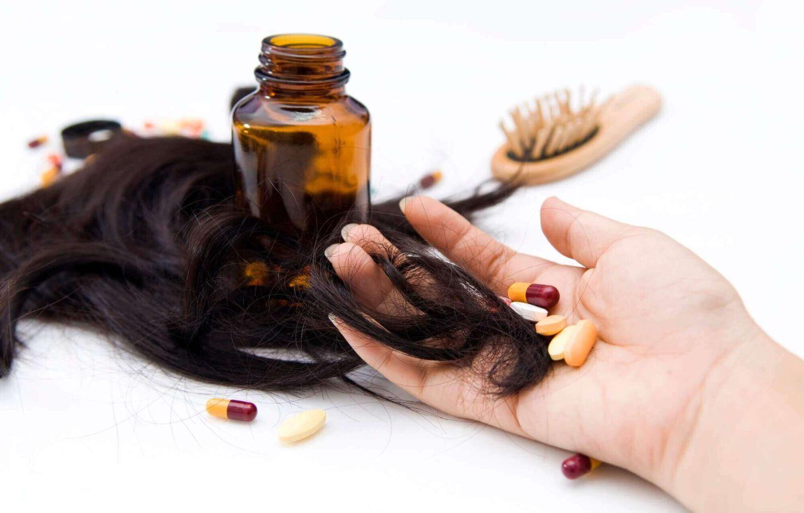 ויטמינים וכדורים נגד נשירת שיער נשים