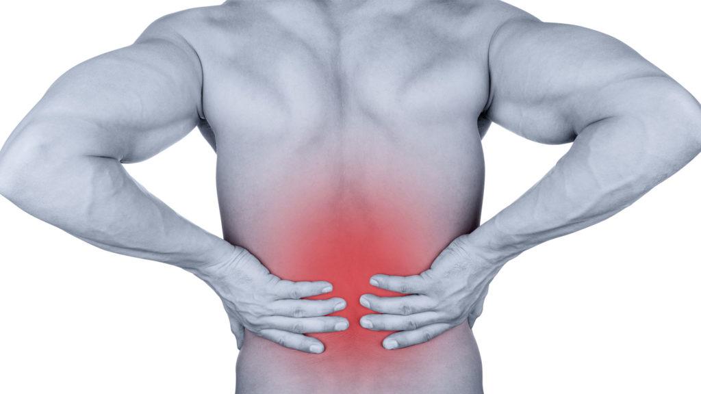 טיפול טבעי בכאב גב